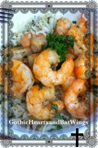 Shrimp and Herbed Rice