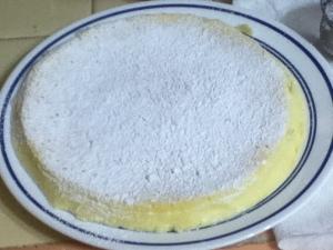 Cheesecake souffle