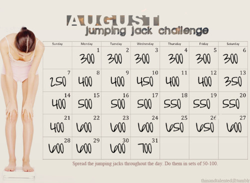jumping jack challenge