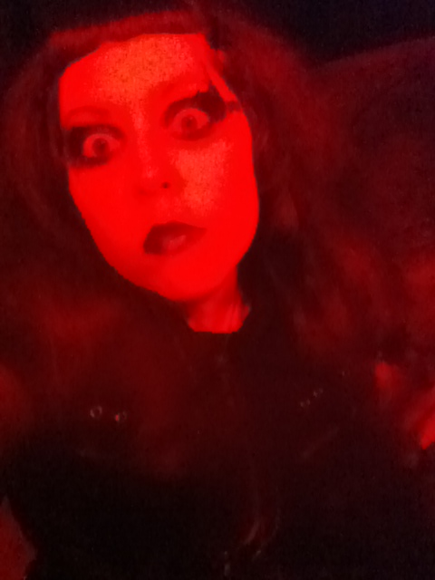 My Lily Munster face