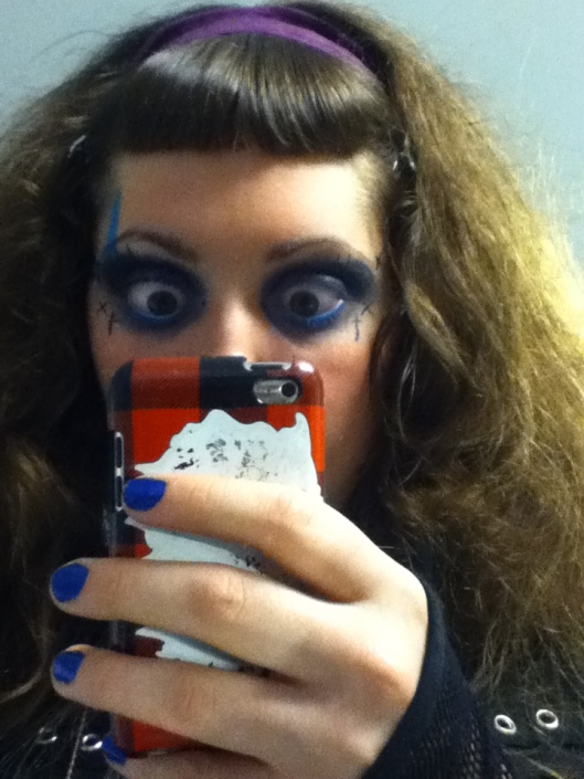 Last look of the makeup. :3