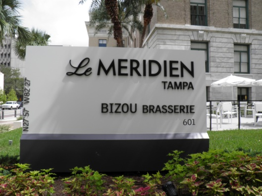 Le Meridien. A fine location and hotel to stay. I was very happy!